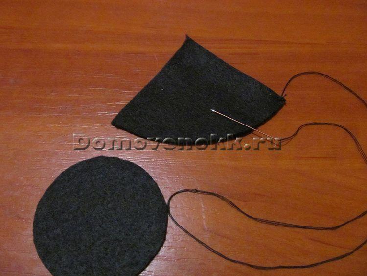 Как сделать ведьминскую шляпу 682