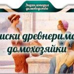 Записки древнеримской домохозяйки
