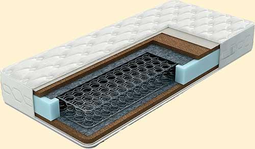 матрасы с зависимыми пружинными блоками