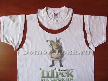 вторая жизнь старой футболки