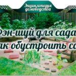 Фэн-шуй для сада – как обустроить сад