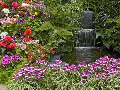 как обустроить сад