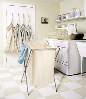 как хранить грязное белье
