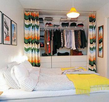 как сделать гардеробную