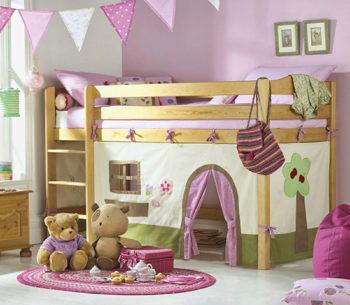 детский уголок в однокомнатной квартире