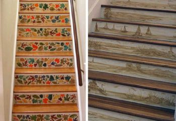 картины на лестнице