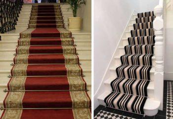 ковровые покрытия для лестницы