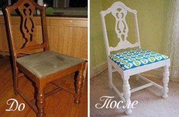 обновление мебели покраской