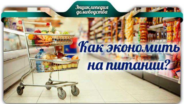 Как экономить на питании