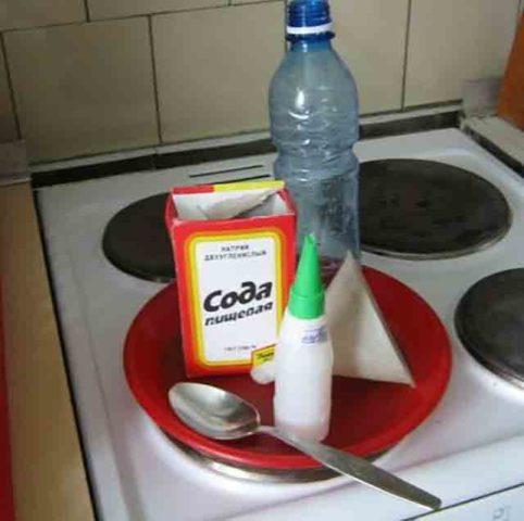 Специальная смесь для плиты