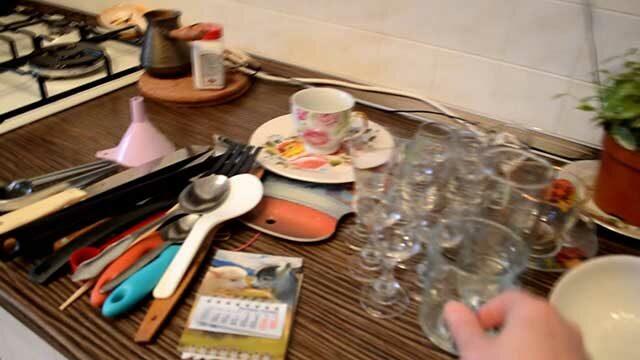 расхламление на кухне