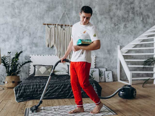 чистота в доме